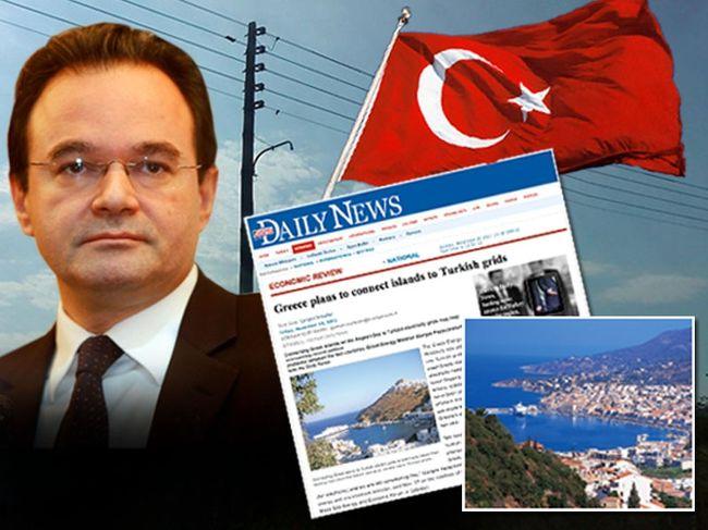 «Χαρίζει» τά νησιά τοῦ Αἰγαίου στήν τουρκία
