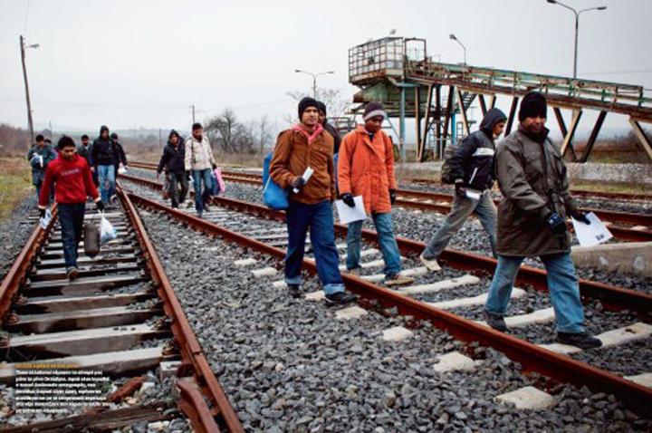 Λαθρομετανάστες. Ἡ εἰσρροή συνεχίζεται. Περᾶστε κόσμε2