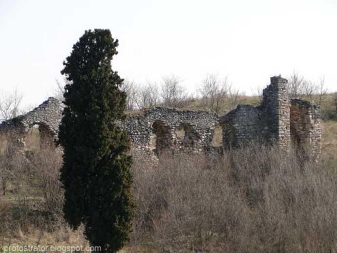 Τὸ βυζαντινὸν κάστρον τῆς Ζίχνας.1