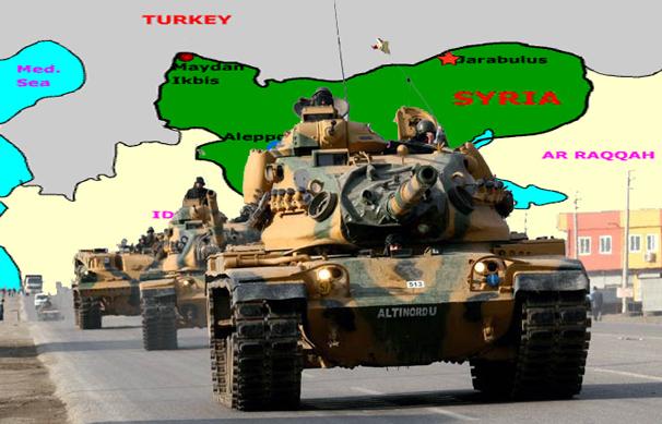 Εἰσβολή τῆς Τουρκίας στήν Συρία
