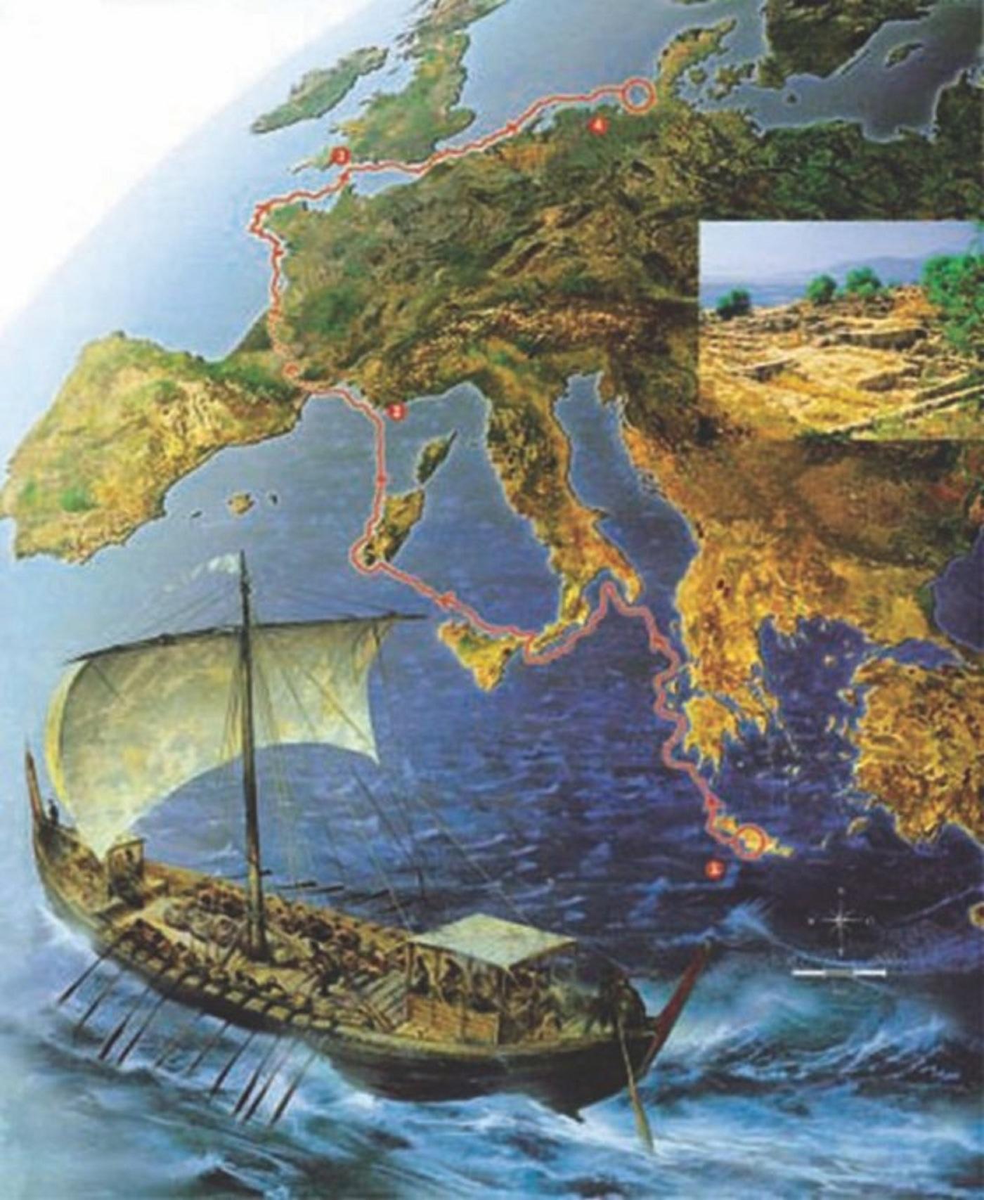 Μινωΐτες Κρῆτες 3.500 τοὐλάχιστον χρόνια πρίν, ἐξερευνοῦσαν τὴν Εὐρώπη!3