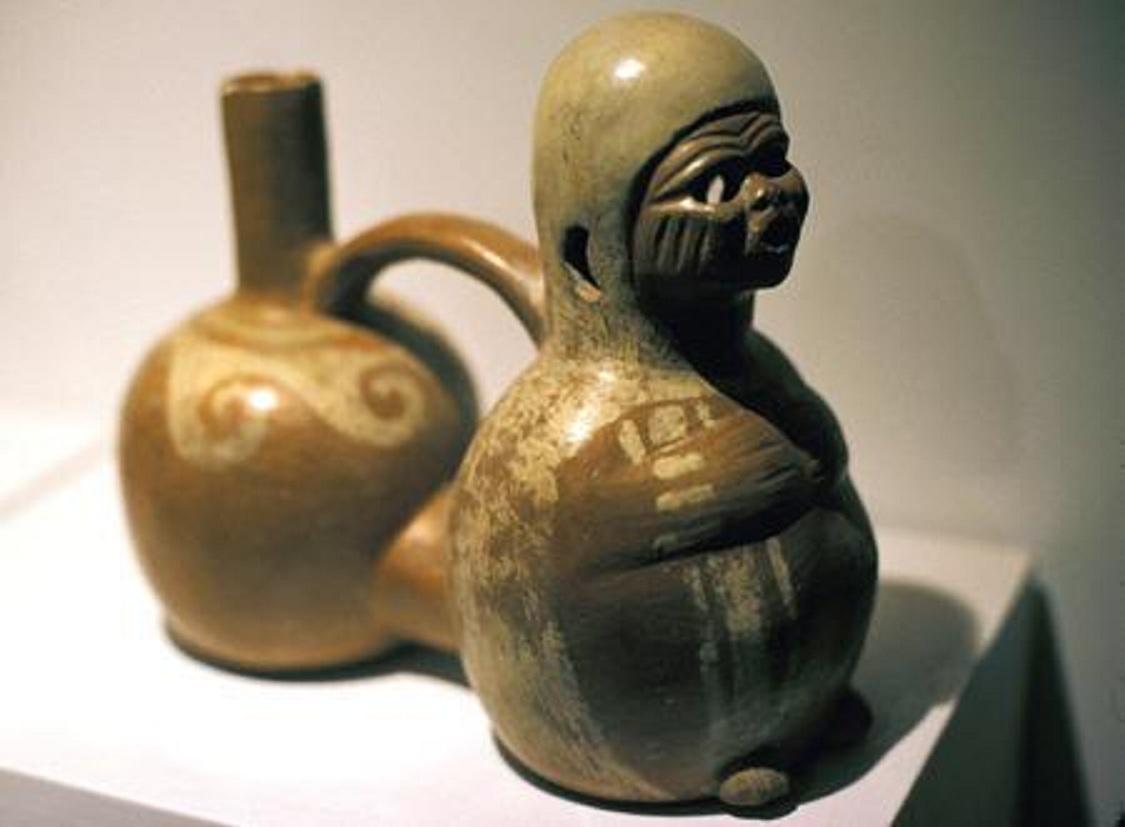Πότε πρωτοπάτησαν οἱ Ἕλληνες τήν Ἀμερική εἴπαμε; (α)10 Μουσείο Περού.