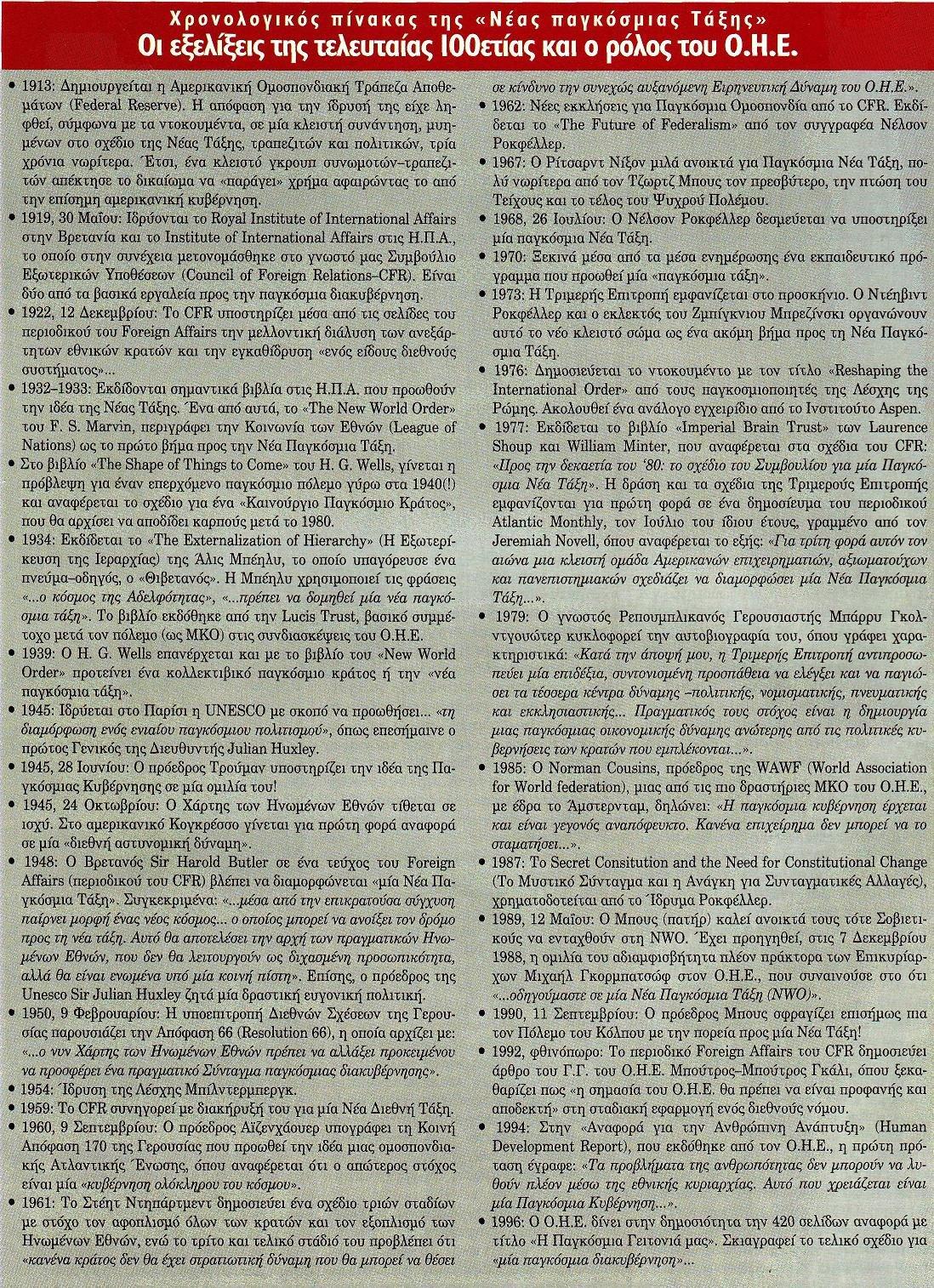 Άποκρυφισμὸς στὸν ΟΗΕ καὶ παγκόσμια διακυβέρνησις.3