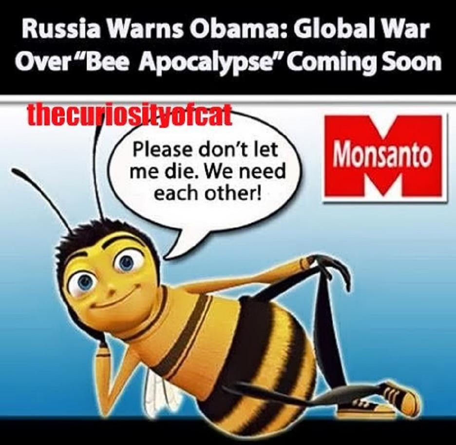 Αἰτία Παγκοσμίου Πολέμου οἱ μέλισσες;1