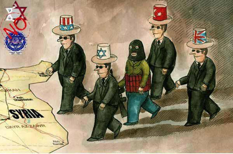 Δίνουμε Γῆ καὶ Ὕδωρ στὸν σιωνισμὸ γιὰ νὰ πατάξῃ τὴν Συρία!!!2