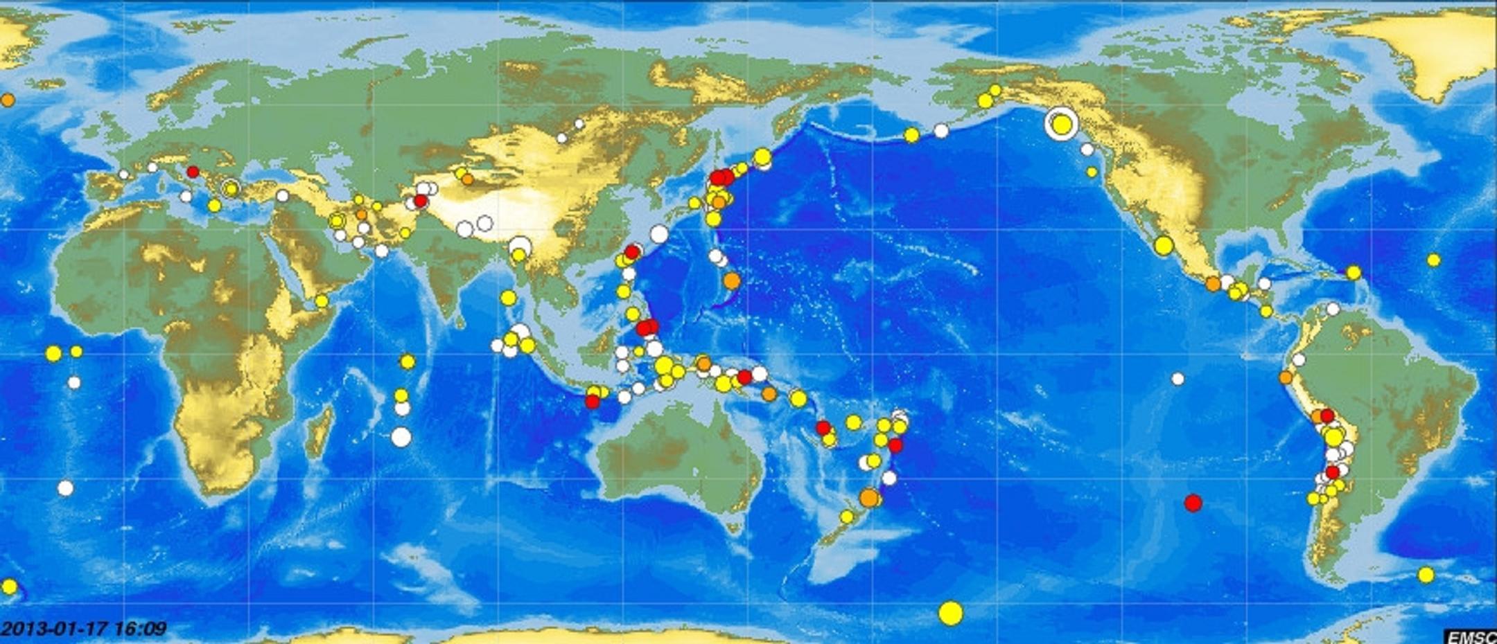 Κι ἄλλοι σεισμοί! Πολλοὶ σεισμοί!