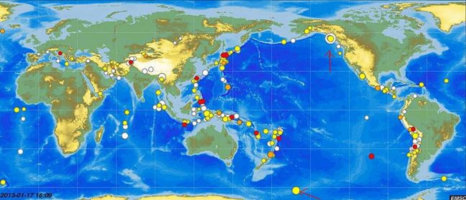 Κι ἄλλοι σεισμοί! Πολλοὶ σεισμοί!2