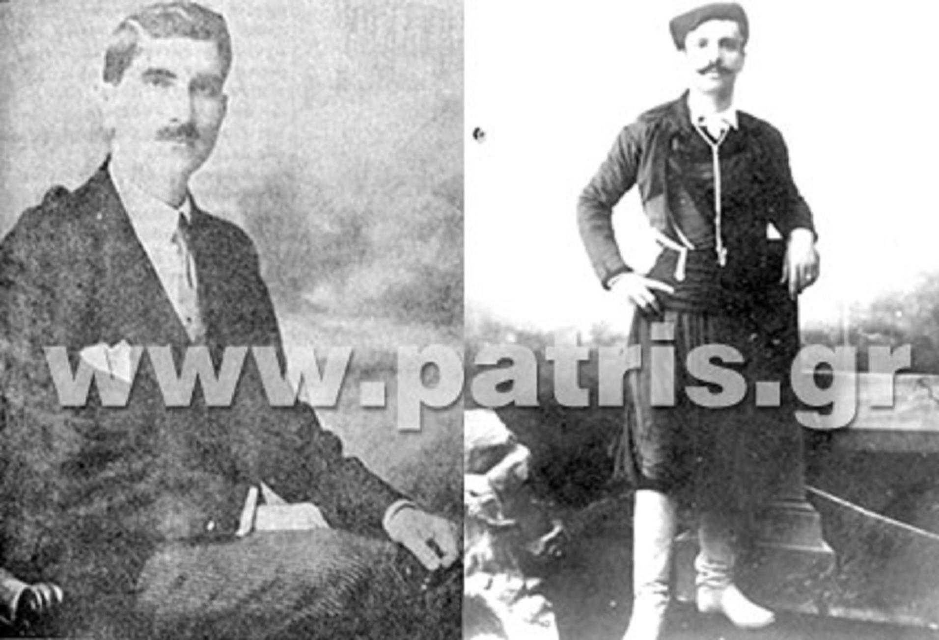 Ο γενικός διοικητής Κρήτης Τίτος Γεωργιάδης, ένας από τους 62 Μάρτυρες που εκτέλεσαν οι Γερμανοί τον Ιούνιο του 1942. Διαχειρίστηκε το πρώτο δύσκολο διάστημα της εξέγερσης του κρητικού λαού, παραιτήθηκε γύρω στις 10 Φεβρουαρίου και αντικαταστάθηκε από το στρατηγό Γεώργιο Κατεχάκη -Καπετάν Ρούβα (δεξιά) στις 7 Μαρτίου
