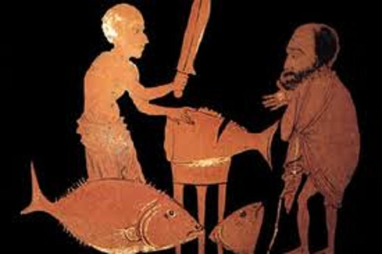 Μία ἡμέρα ἀπό τή ζωή ἑνός ἀρχαίου Ἀθηναίου καί μίας Ἀθηναίας.1