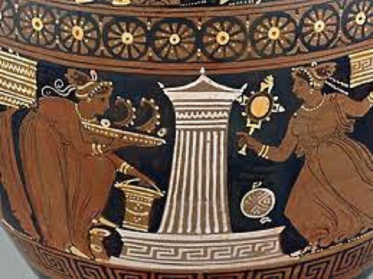 Μία ἡμέρα ἀπό τή ζωή ἑνός ἀρχαίου Ἀθηναίου καί μίας Ἀθηναίας.25
