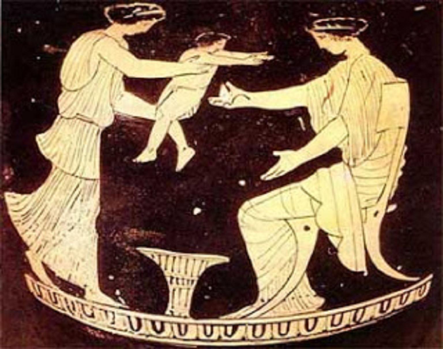 Μία ἡμέρα ἀπό τή ζωή ἑνός ἀρχαίου Ἀθηναίου καί μίας Ἀθηναίας.27