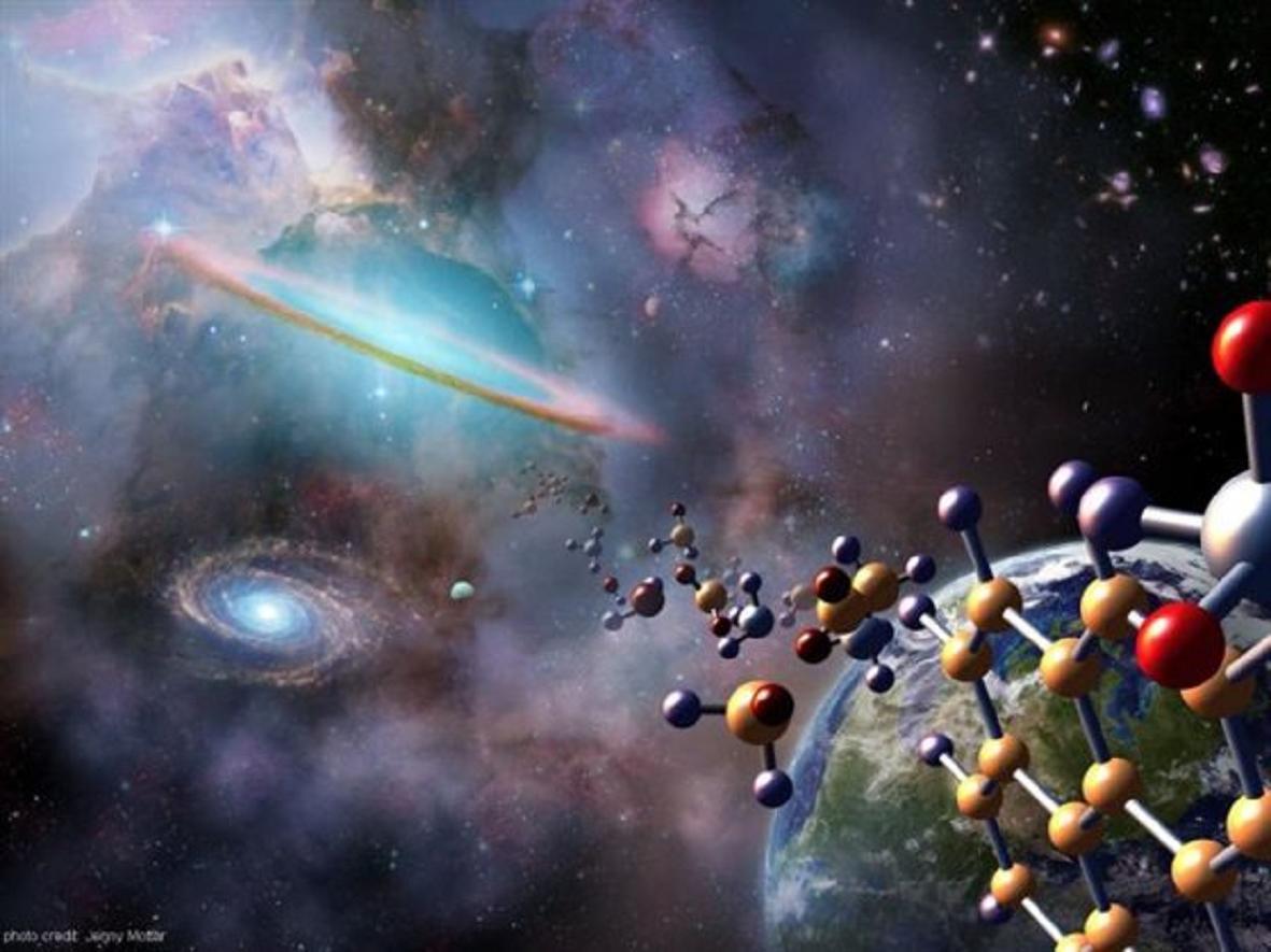 Η μελέτη ενός μετεωρίτη που εντοπίσθηκε στην Ανταρκτική ισχυροποιεί τη θεωρία ότι η ζωή ή τουλάχιστον τα δομικά υλικά της δεν παρήχθησαν στη Γη αλλά έφθασαν στον πλανήτη μας από το Διάστημα.