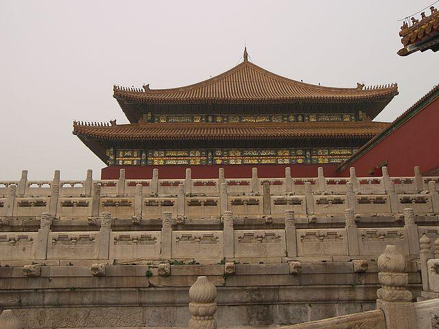 Οἱ Πῦλες. παγόδα Κίνα