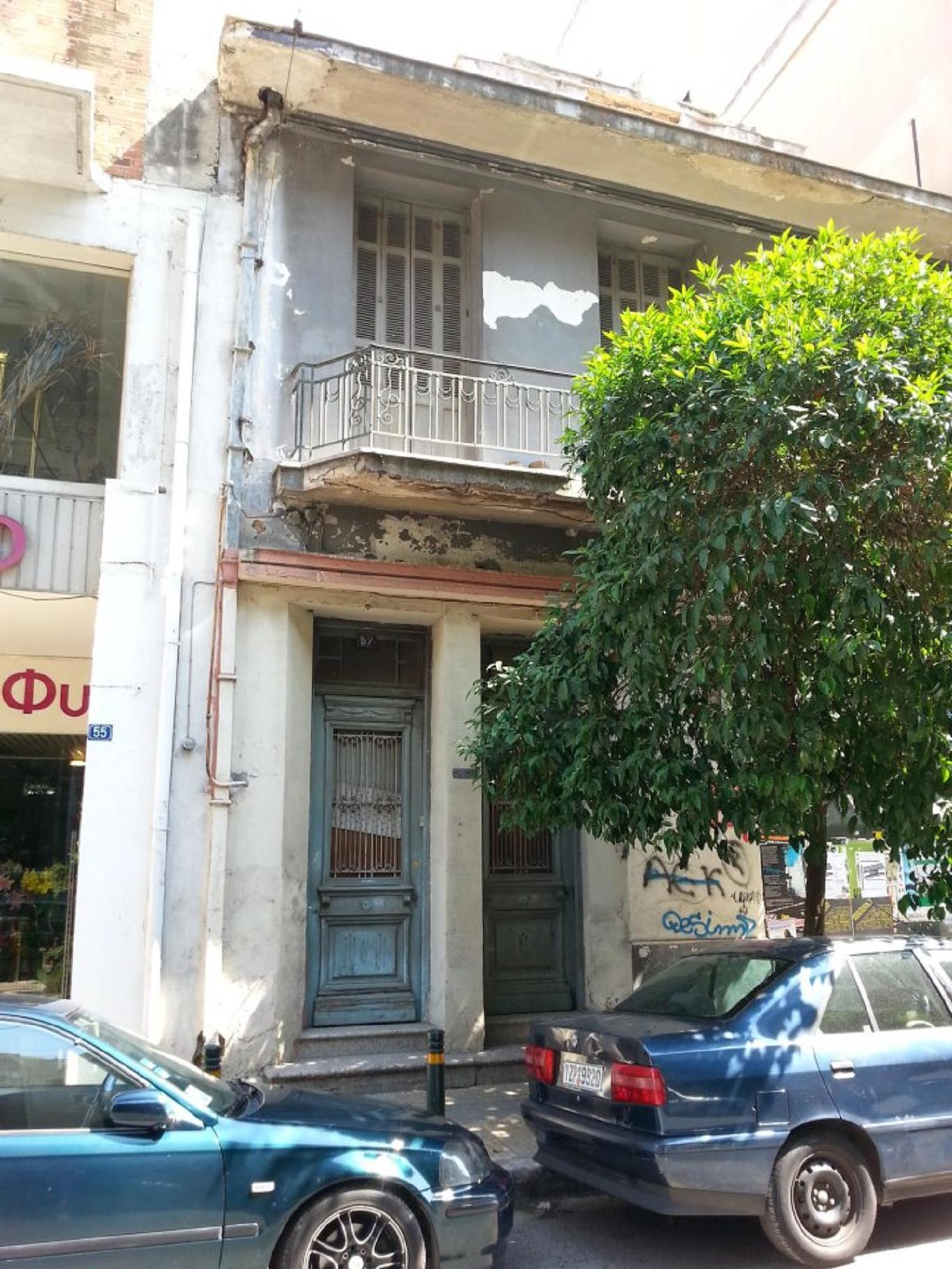 Πλατεία Γαργαρέττας. Τὸ σπίτι τῆς Ἡροῦς Κωνσταντοπούλου.