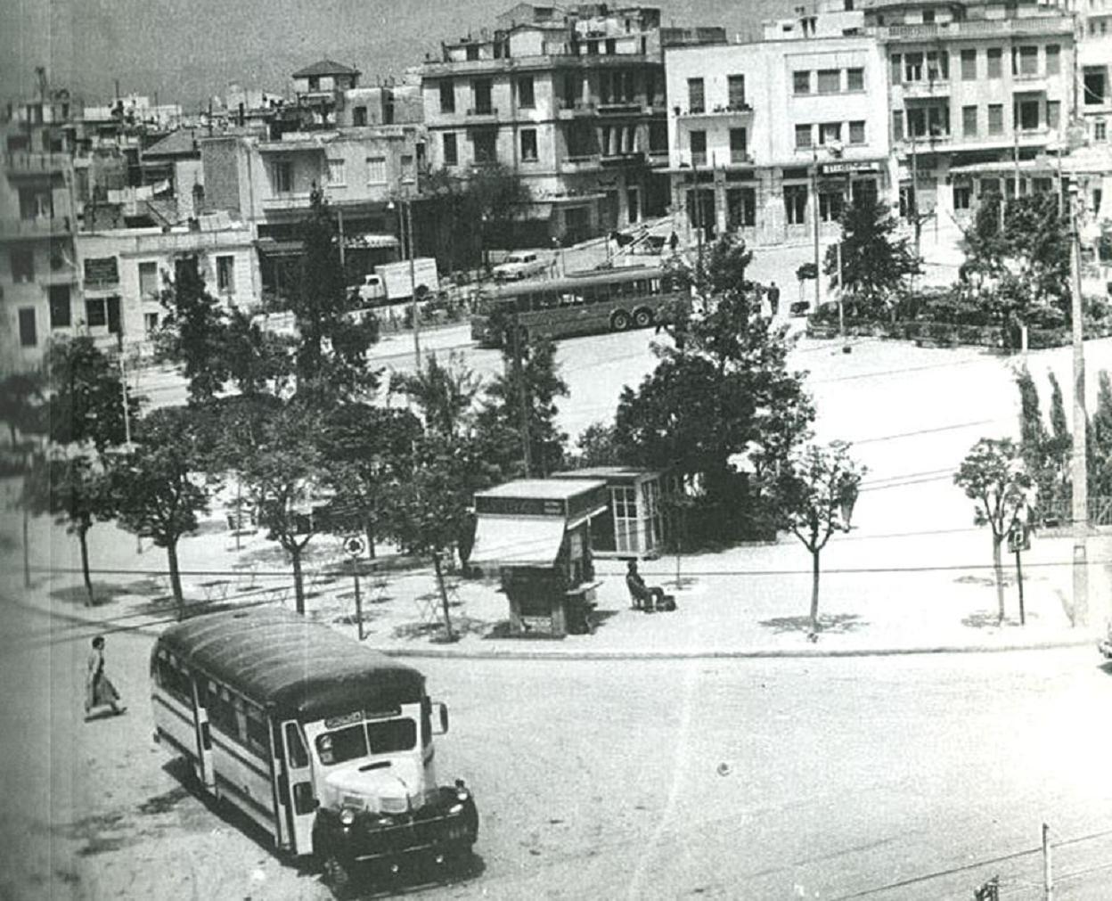 Πλατεία Κυψέλης... κάποτε...