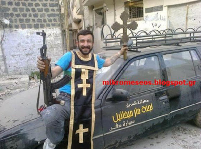 Τὰ ἐγκλήματα στὴν Συρία.