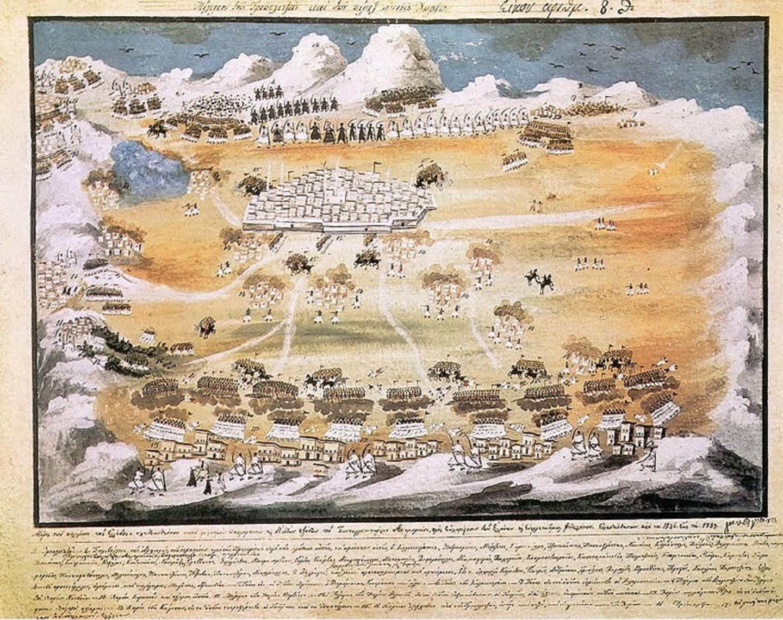 Ἡ μάχη στὸ Βαλτέτσι, ὅπως τὴν ἀφηγεῖται ὁ Γέρος μας. πολιορκία Τριπολιτσᾶς