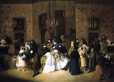 Το ridotto, πρόδρομος του καζίνο, στα μέσα του 18ου αιώνα