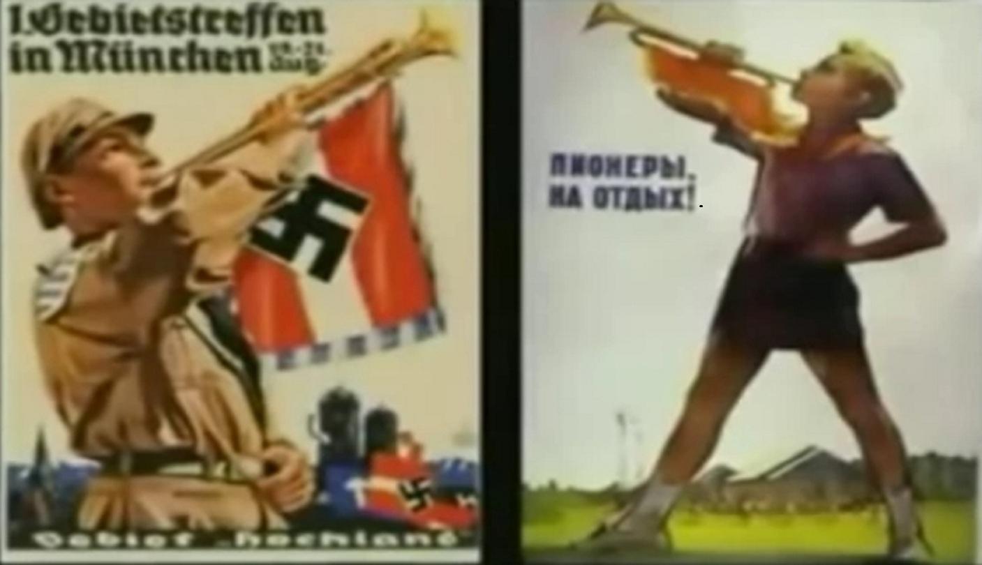 Κομμουνισμός, ἡ μήτρα τοῦ ναζισμοῦ.11