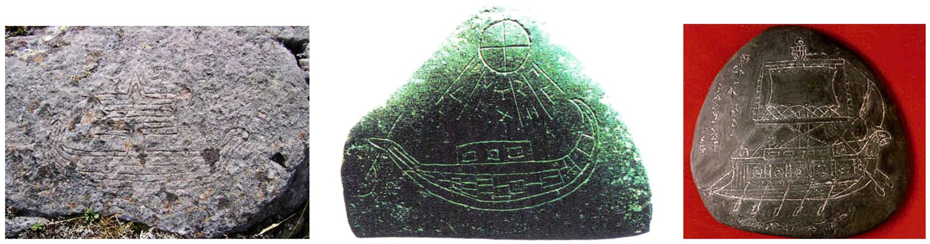 Σιωπηλοί μάρτυρες αυτές οι πέτρες του Μίσιγκαν, με μινωικά και μυκηναϊκά πλοία χαραγμένα πάνω τους