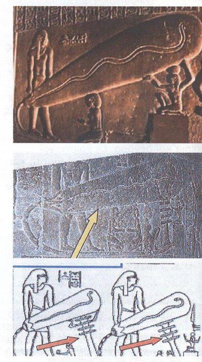 Μά πῶς στά κομμάτια σχεδιάστηκε τό ἐσωτερικό τῶν πυραμίδων;
