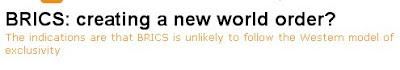 Μία παγκόσμιος τάξις ἀπὸ ἐδῶ καὶ μία παγκόσμιος τάξις ἀπὸ ἐκεῖ!4