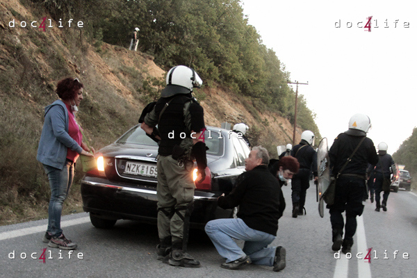 "Riots during protest against ""Greek el dorado""/( Doc4LifeAlexandros Michailidis)"