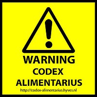 Codex alimentarius ἀντιμετωπίζεται;