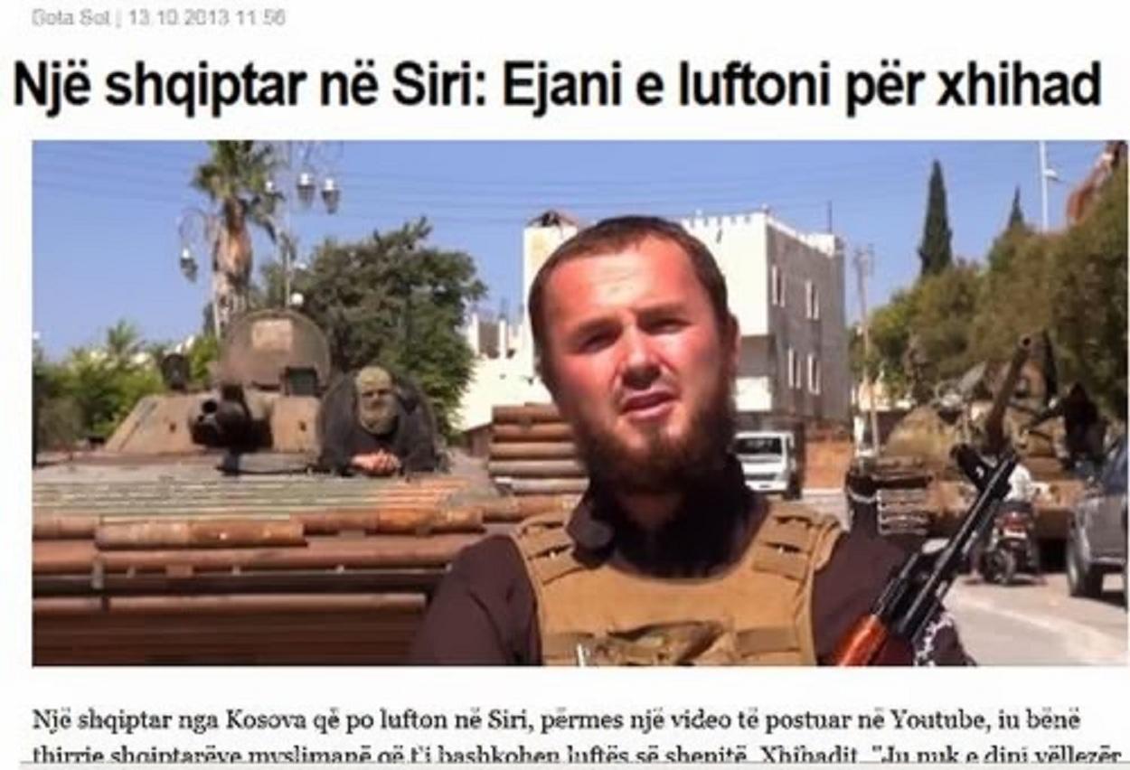 Ἀλβανὸς καλεῖ Ἀλβανοὺς νὰ πολεμήσουν ὑπὲρ ...ἀπελευθερώσεως τῆς Συρίας!!!