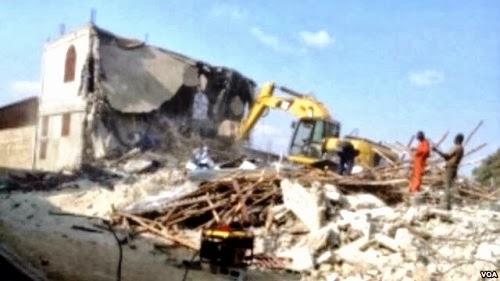 Καταστραμμένο τζαμί στη Λουάντα (Αγκόλα)