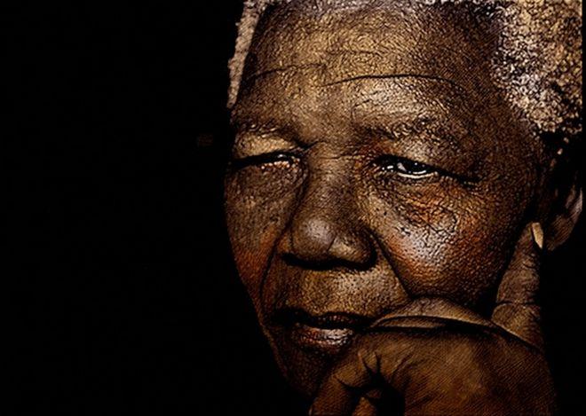 Δύσκολον τὸ νὰ μπορέσω νὰ συγχειροκροτήσω τὴν μνήμην τοῦ Νέλσονος Μαντέλα.