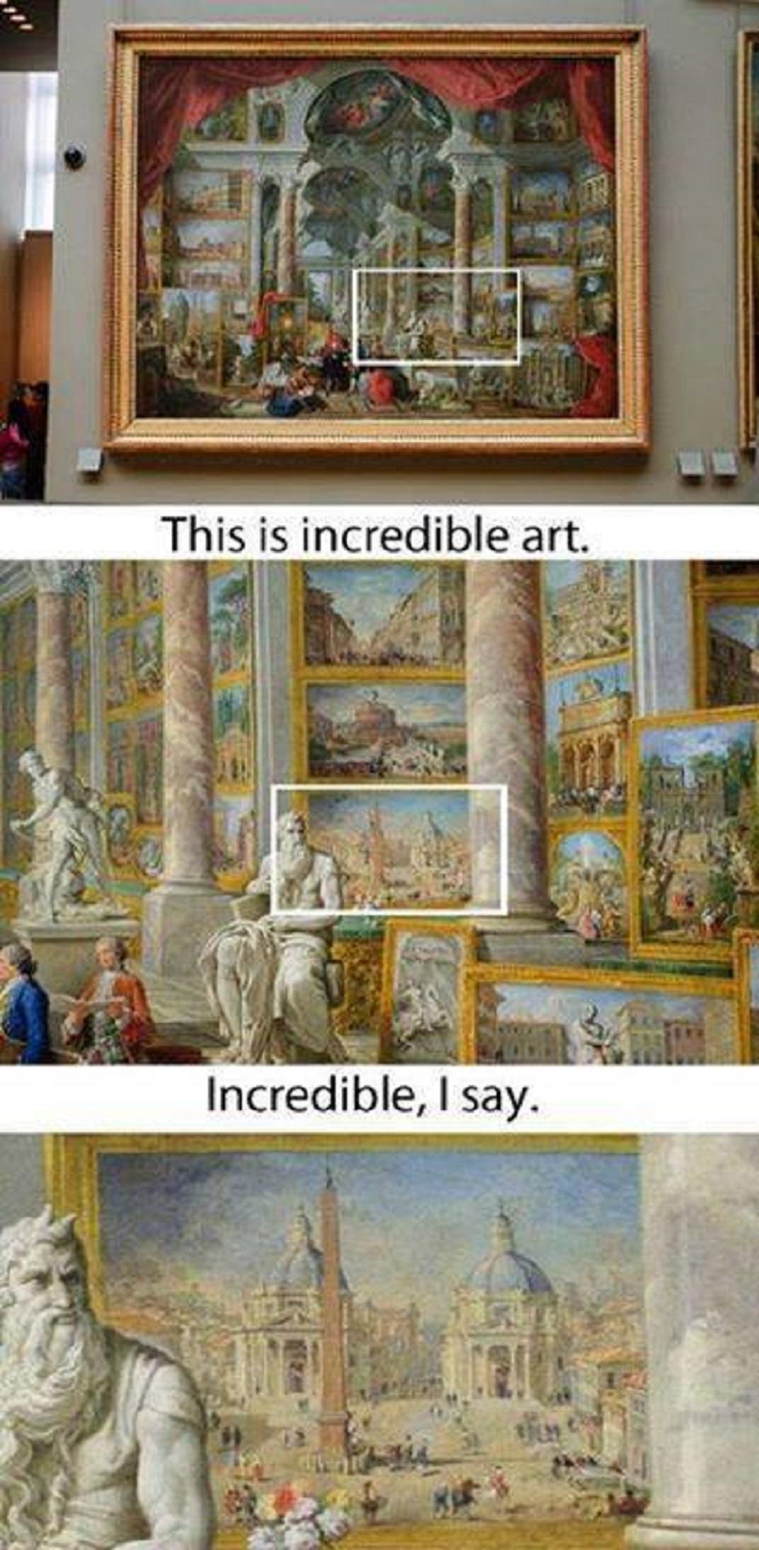 Νὰ τὶ σημαίνει τέχνη...