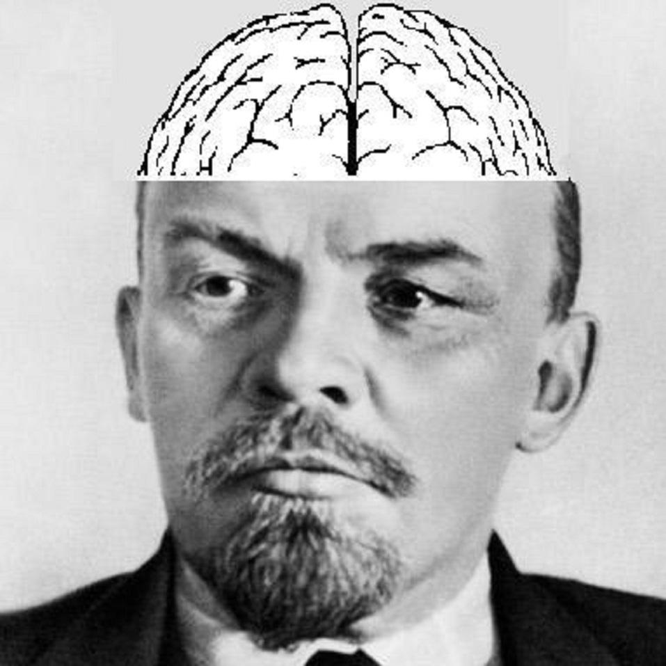 Ξέθαψα κάτι ξεχασμένα γιὰ τὸν ἐγκέφαλο τοῦ Λένιν...
