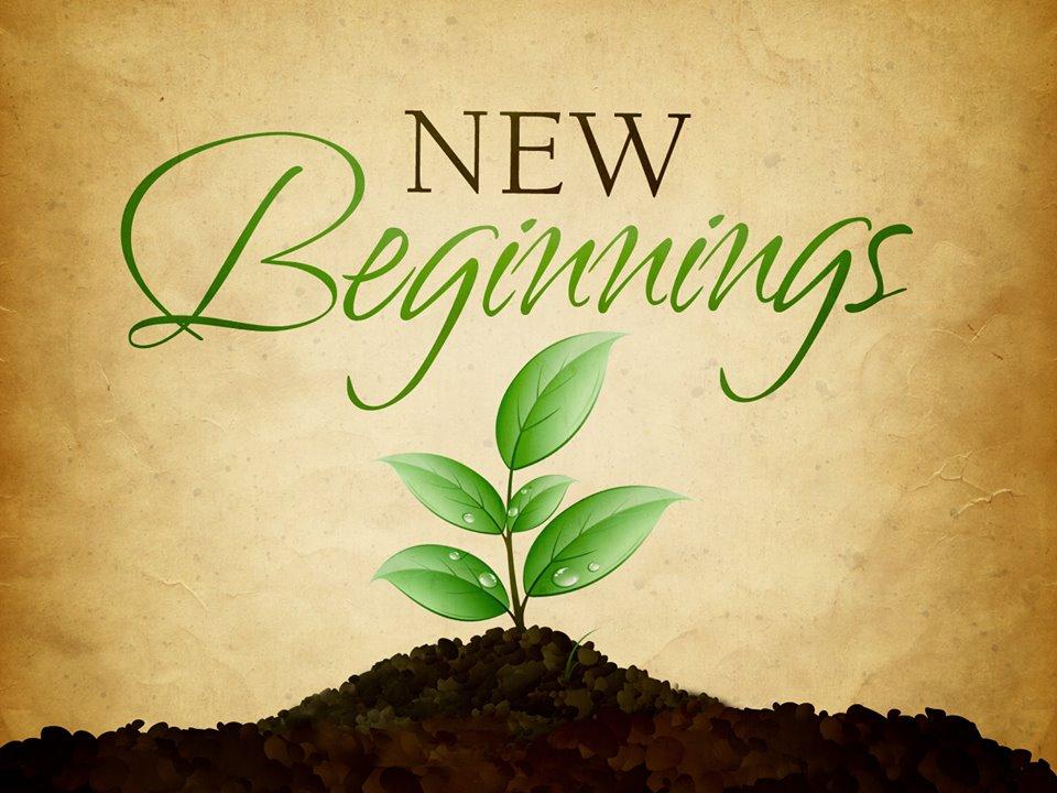 Εἴμαστε σὲ μίαν νέα ἀρχὴ τοῦ ταξειδιοῦ...