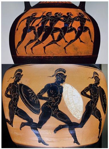 Τὸ ὁμόπλευρον τρέξιμον τῶν ἀρχαίων Ἑλλήνων.3