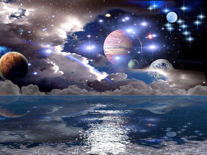 Ὁ κόσμος μας... Πόσο μικρός... μὰ καὶ πόσο μεγάλος...