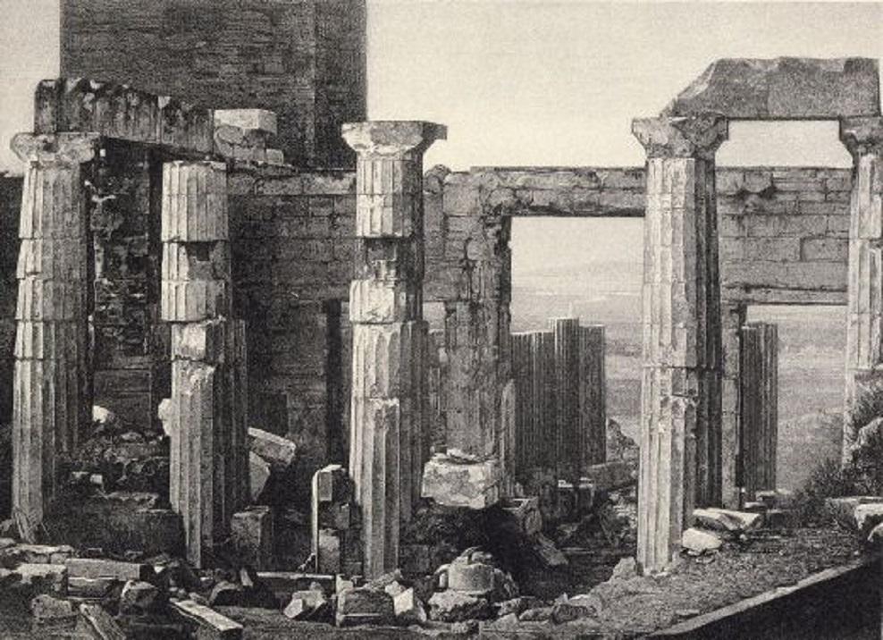Οἱ πρῶτες φωτογραφίες τῆς Ἀκροπόλεως, τὸ 1839 1