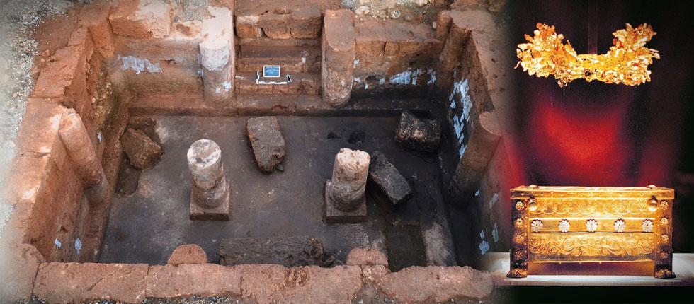 Στὸ φῶς πέντε νέοι βασιλικοὶ τάφοι.