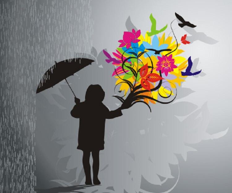 Ἡ ὀμορφιὰ τῆς βροχῆς...