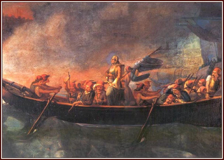 22 Μαΐου 1825. Ὁ φόνος τῆς Μπουμπουλίνας.
