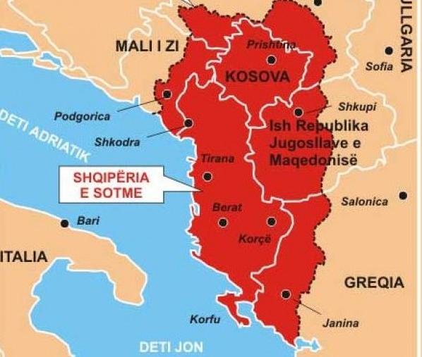 Νέα σύνορα στά Βαλκάνια;