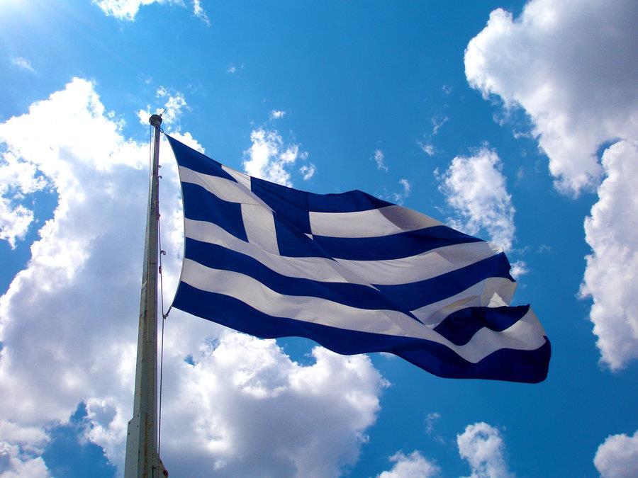Ἡ σημαία καὶ τὰ στειλιάρια.