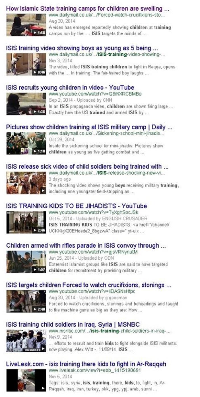 Ἡ πραγματικὴ σύστασις τοῦ ISIS καὶ οἱ ὑποστηρικτές του.1