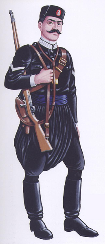Κρὴς Χωροφύλαξ 1913