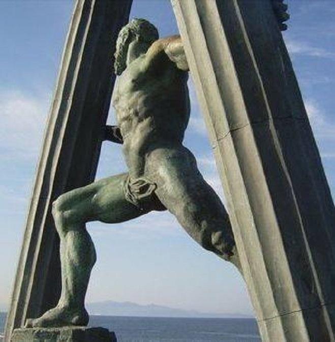 Οἱ πύλες τοῦ Ἡρακλέους στὴν Ἀβύλη (Ceuta-Θέουτα)3