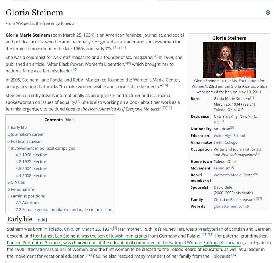 Ἡ ...φεμινίστρια Gloria Steinem2