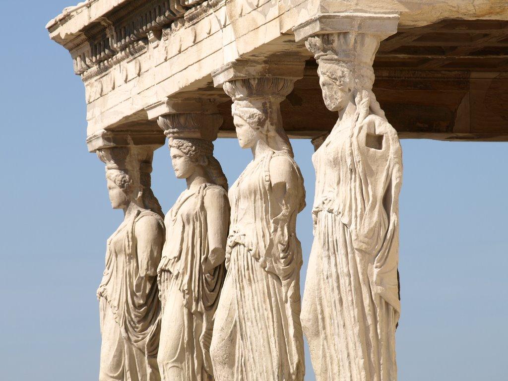 Περὶ Καρυᾶς καὶ Καρυάτιδων