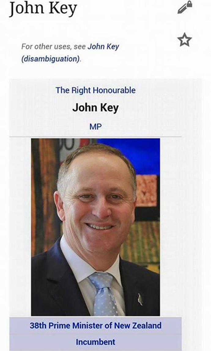 Ποιός εἶναι ὁ πρωθυπουργός τῆς Νέας Ζηλανδίας;