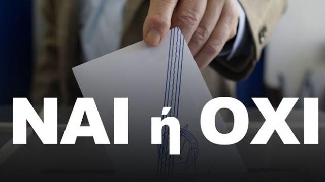 Τὸ δημοψήφισμα τῆς Κυριακῆς ἔχει ἀκυρωθεῖ