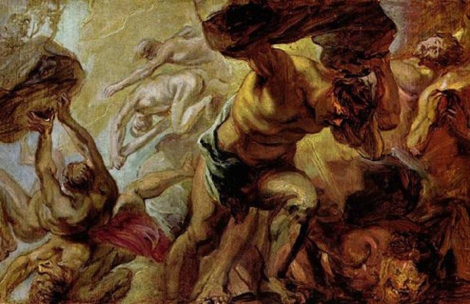 Fall of the Titans, Peter Paul Rubens (1577 – 1640)